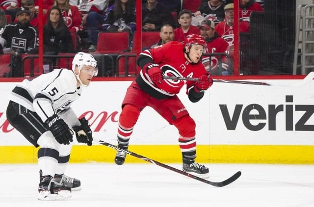 The Carolina Hurricanes could make Jeff Skinner available and the Los Angeles Kings would be interested.