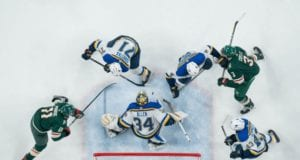 St. Louis Blues and Minnesota Wild