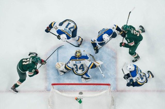 St. Louis Blues and Minnesota Wild