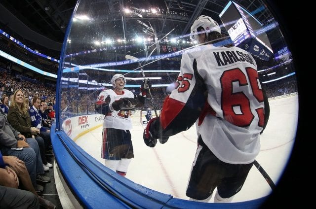 The Ottawa Senators don't plan on trading Erik Karlsson according to GM Pierre Dorion.