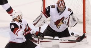 The Arizona Coyotes and Brad Ricahrdson have held preliminary talks.