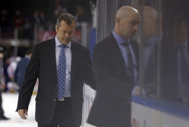 The New York Rangers have fired head coach Alain Vigneault.