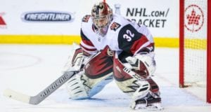 The Arizona Coyotes have signed Antti Raanta to a three-year contract extension with a $4.25 million salary cap hit.