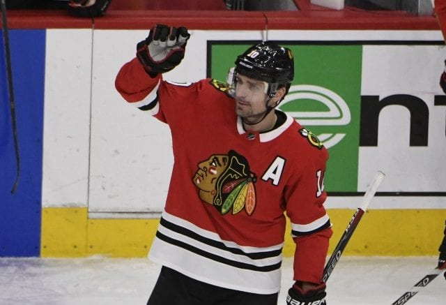 Patrick Sharp will retire from the NHL after today's game.