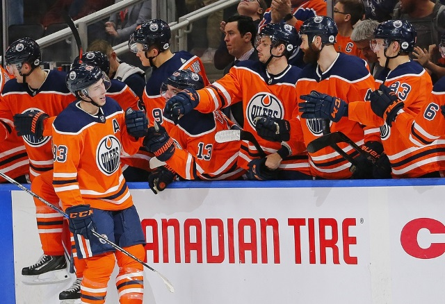 Contract talks between the Edmonton Oilers and Ryan Nugent-Hopkins quiet. St. Louis Blues Jordan Binnington setting himself up for a nice new contract