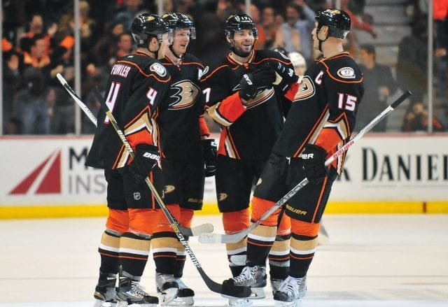 Would the Anaheim Ducks look at trading forward Corey Perry?