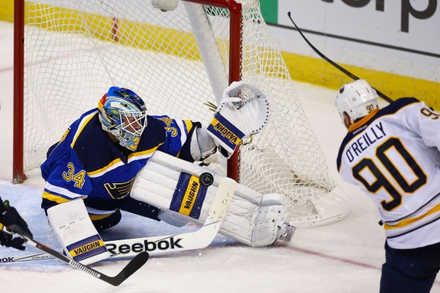 The St. Louis Blues need consistency from Jake Allen. Could Sabres Ryan O'Reilly be a trade option for the Blue?