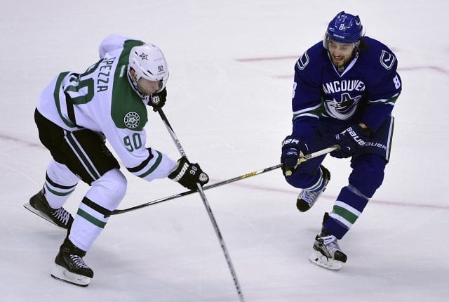 Could Jason Spezza be a short-term option at center for the Vancouver Canucks?