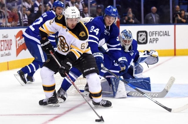 The Boston Bruins and Toronto Maple Leafs meet in the first round of the Stanley Cup playoffs