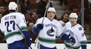 Ben Hutton never requested a trade. The Vancouver Canucks could look to trade Sven Baertschi.
