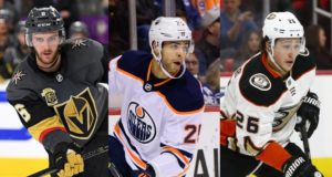2018 NHL restricted free agents: Colin Miller, Darnell Nurse, and Brandon Montour