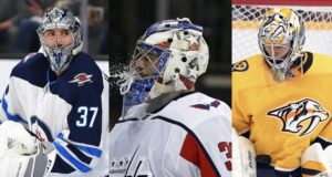 NHL restricted free agent goaltenders Connor Hellebuyck – Philipp Grubaur – Jusse Saros