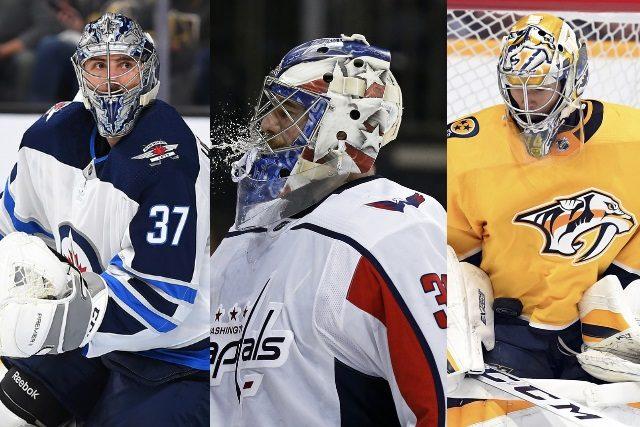 NHL restricted free agent goaltenders Connor Hellebuyck – Philipp Grubaur – Jusse Saros