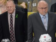 Stanley Cup Final head coaches Gerard Galland and Barry Trotz