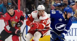 Three Pending NHL restricted free agents: Mark Stone, Dylan Larkin, J.T. Miller