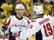 The status for Capitals Nicklas Backstrom and Andre Burakovsky for Game 1 is not known yet.