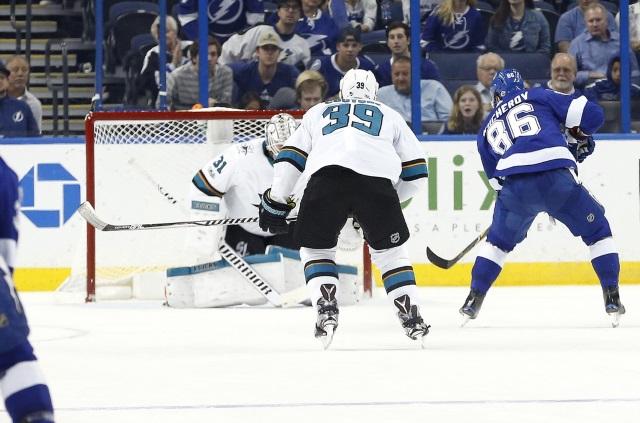 San Jose Sharks and Tampa Bay Lightning