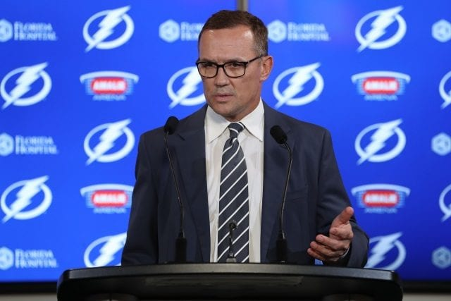 It seems unlikely that Steve Yzerman would leave the Tampa Bay Lightning for the Toronto Maple Leafs