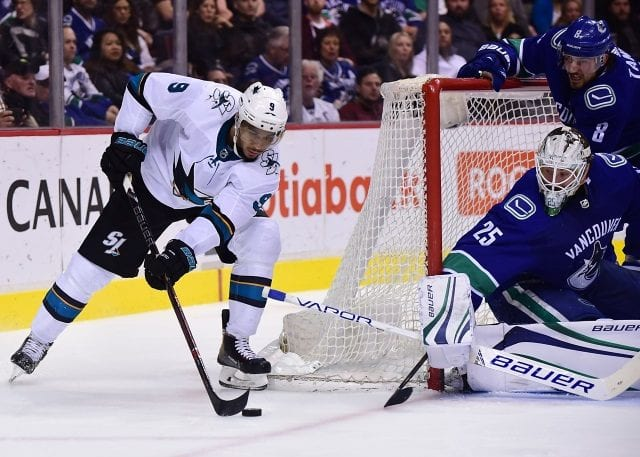 The San Jose Sharks and Vancouver Canucks would be interested in Evander Kane.