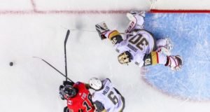 Vegas Golden Knights and the Calgary Flames