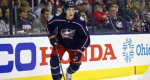 Columbus Blue Jackets defenseman Zach Werenski underwent shoulder surgery and is out five to six months