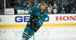 Has Joe Thornton played his last game in a San Jose Sharks jersey?