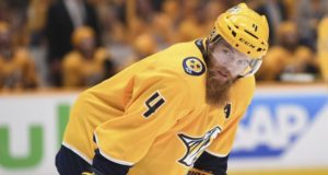 Ryan Ellis is eligible for a contract extension on July 1, and he's hoping for a long-term deal with the Nashville Predators.