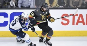 James Neal went through concussion protocol. Dustin Byfuglien manhandles two Jets.