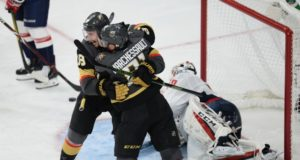Vegas Golden Knights and the Washington Capitals