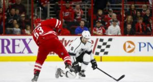 Carolina Hurricanes Jeff Skinner getting interest. LA Kings GM Rob Blake has met with Drew Doughty already.