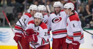 The Carolina Hurricanes are open for business.