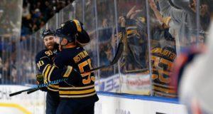 Buffalo Sabres Rasmus Ristolainen and Ryan O'Reilly