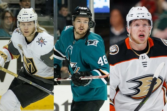 Pending restricted NHL free agent forwards: William Karlsson – Tomas Hertl – Ondrej Kase