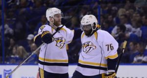 Nashville Predators GM says no one has called him about P.K. Subban. A Ryan Ellis extension is an offseason priority.