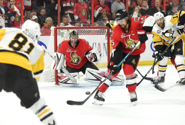 Phil Kessel and Erik Karlsson are two of the top players that could be traded this offseason.