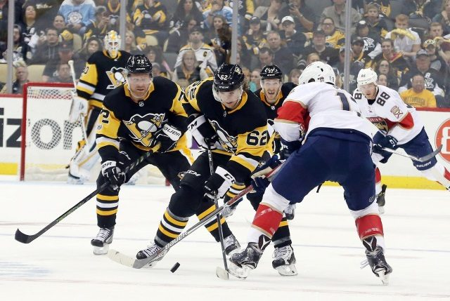 Phil Kessel, Carl Hagelin and Conor Sheary have had their names in the rumor mill.
