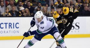 The Vancouver Canucks have been in touch with Boston Bruins pending free agent Riley Nash.