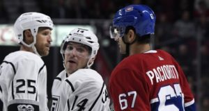 The Los Angeles Kings presented the Montreal Canadiens a trade offer for Max Pacioretty before round two that contained a contract extension.