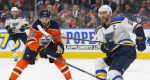 The St. Louis Blues are interested in Patrick Maroon.