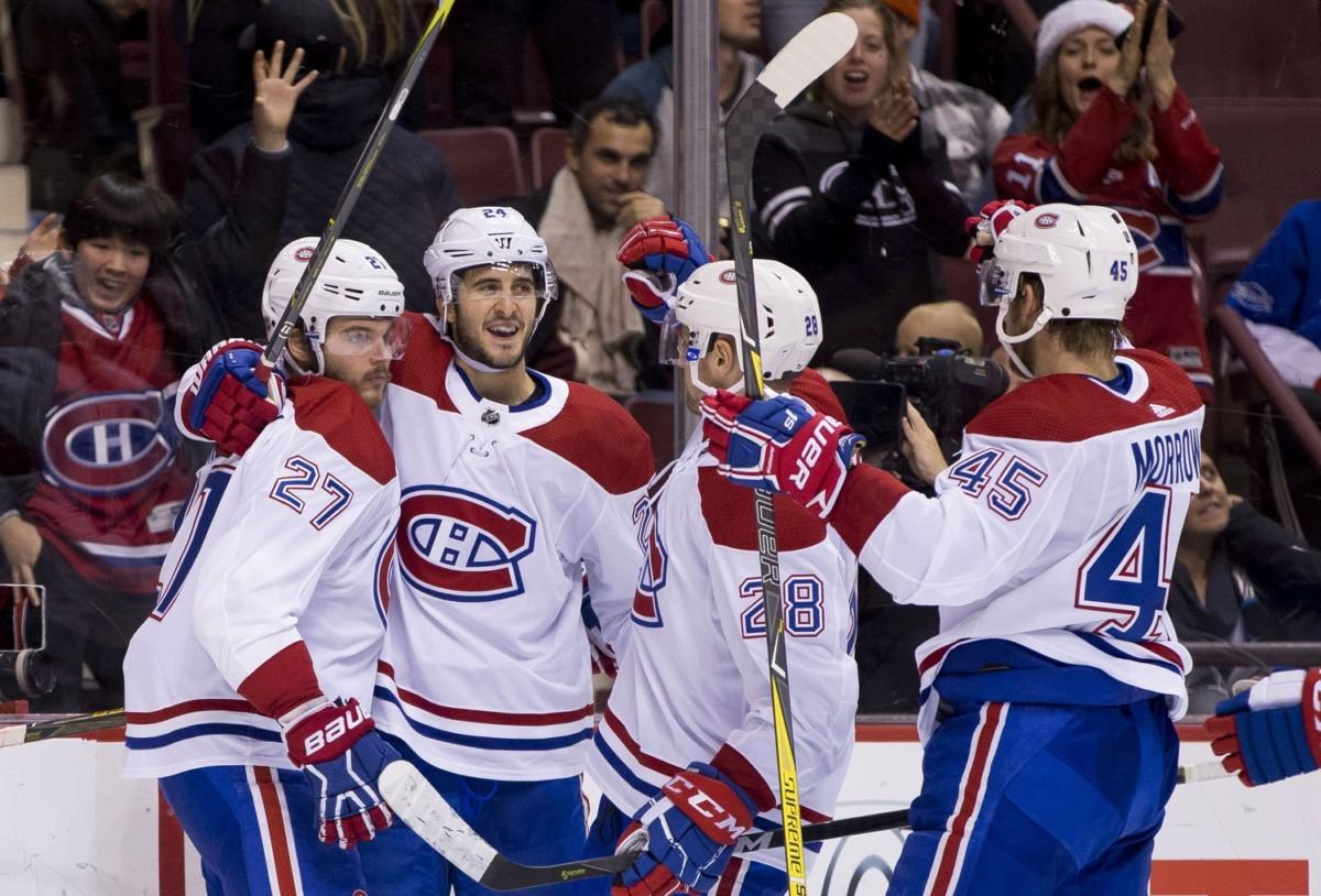 Montreal Canadiens free agent forward Phillip Danault