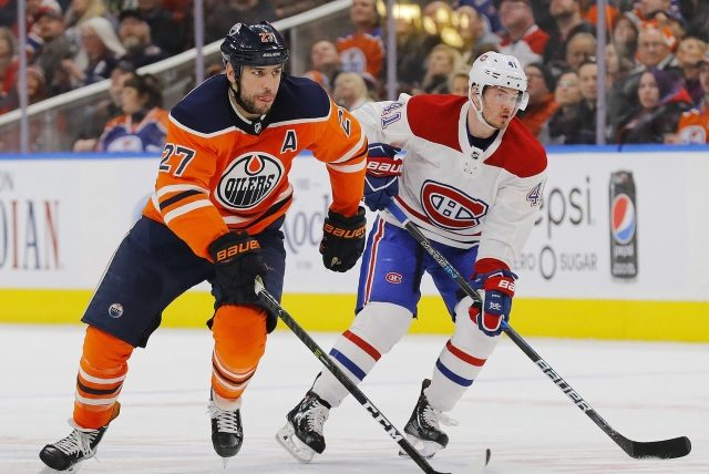 Could the Montreal Canadiens be interested in Edmonton Oilers forward Milan Lucic?