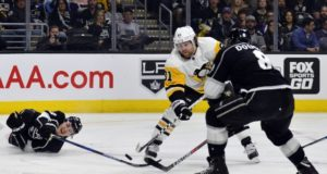 The Los Angeles Kings are looking at the trade market for a scoring winger.