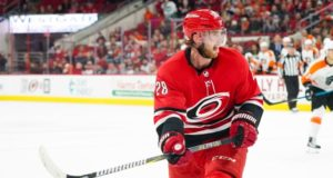The Carolina Hurricanes and Elias Lindholm could be a million apart on a contract extension, so he could be on the move.