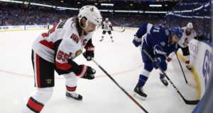 The Tampa Bay Lightning apparently still have some interest in Erik Karlsson.