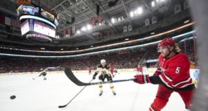 Carolina Hurricanes defenseman Noah Hanifin is getting plenty of interest, but the cost would be high.