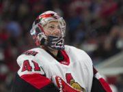 The Ottawa Senators are looking to trade goaltender Craig Anderson.