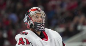 The Ottawa Senators are looking to trade goaltender Craig Anderson.