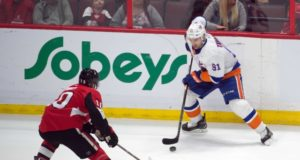 Since being hired by the New York Islanders, Lou Lamoriello and John Tavares' agent have spoken daily.