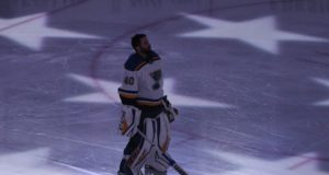 Teams are lining up to speak with St. Louis Blues pending free agent goaltender Carter Hutton.
