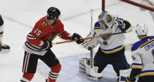 The Chicago Blackhawks could be interested in Carter Hutton. Artem Anisimov's no-movement clause turns to a partial no-trade clause on July 1st.